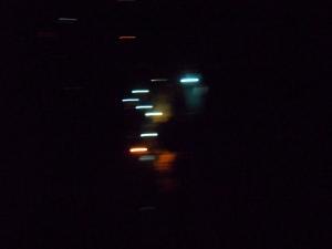 Versos escritos a luces